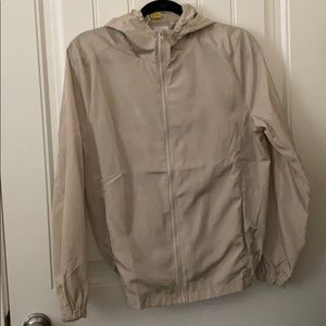 Brand New Taupe Windbreaker Jacket